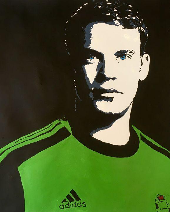 Manuel Neuer - Silhouettes