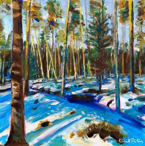 Remaining Snow In The Forest - Iisakki Ratilainen's Gallery