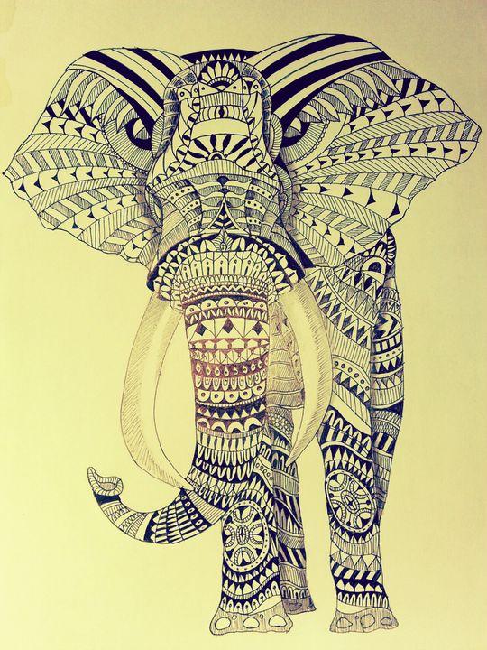 Traditional Elephant - Srilankan traditional arts