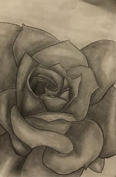 Grey beauty - Jais art