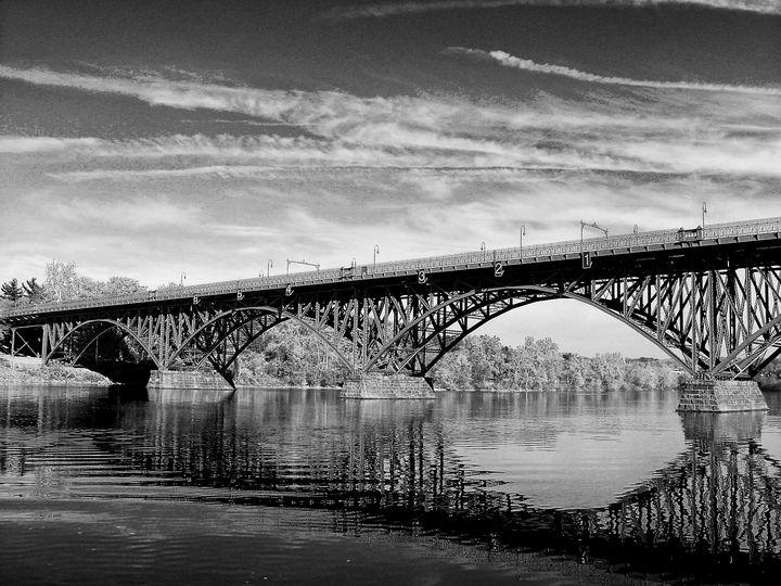Strawberry Mansion Bridge - Louis Dallara Photography