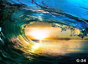 SURFING WAVES IN HUNTINGTON BEACH, C