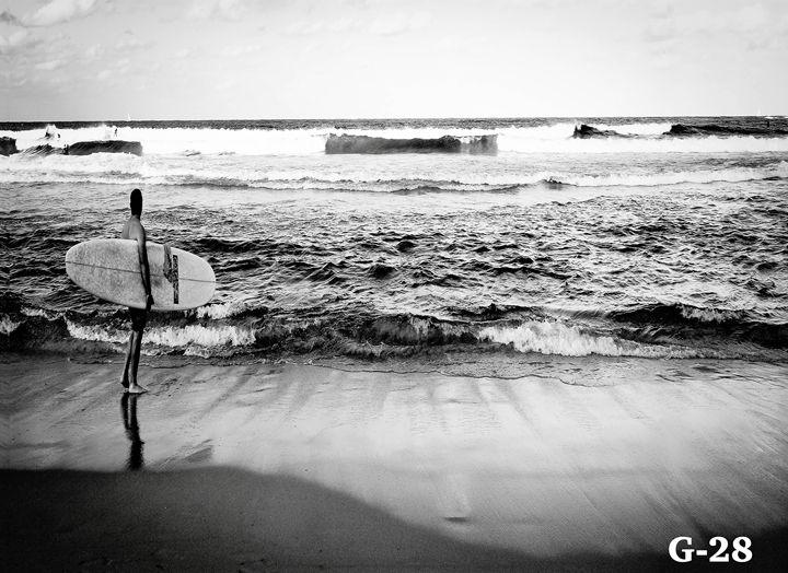 Huntington Beach Waves - - OnepointArt