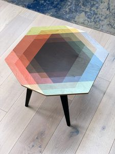 'Separation is a Myth' side table