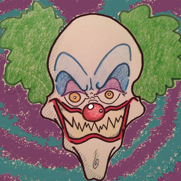 Crinkles the Clown - Chase N. Gillis Cartoons