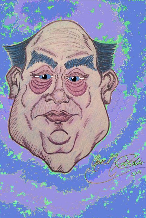 Marvin Hughs - Chase N. Gillis Cartoons