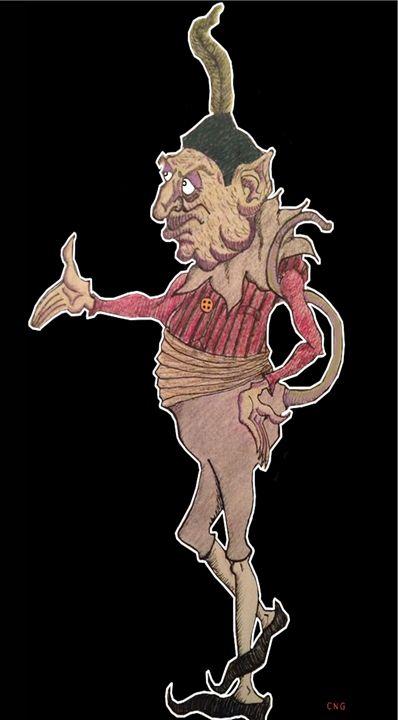 Hoegarth the Troll - Chase N. Gillis Cartoons