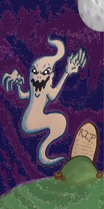 Boo! - Chase N. Gillis Cartoons