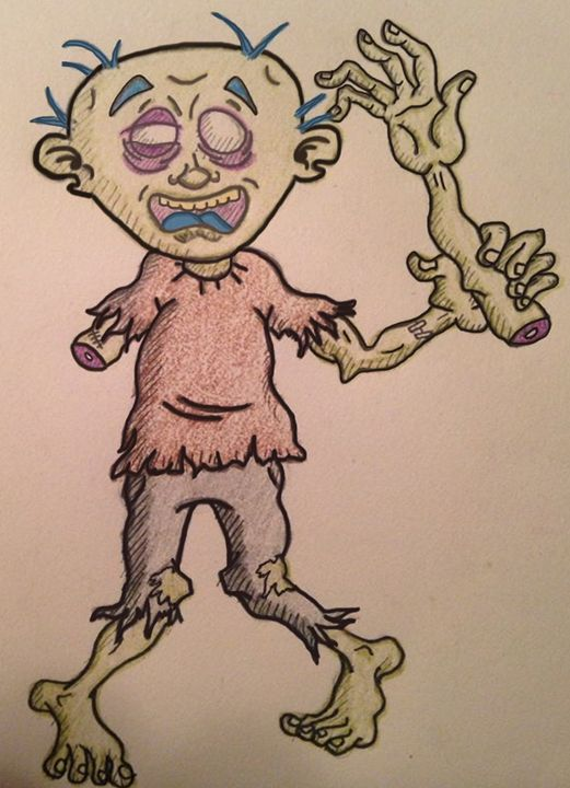 Zombie Wave - Chase N. Gillis Cartoons