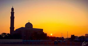 Sunrise on Mosque