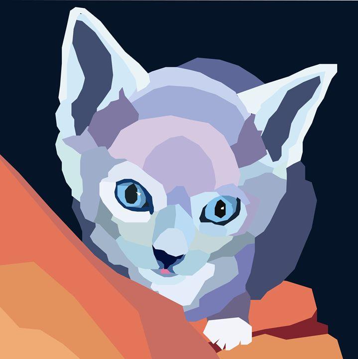 little cat - Jenniferproffitt