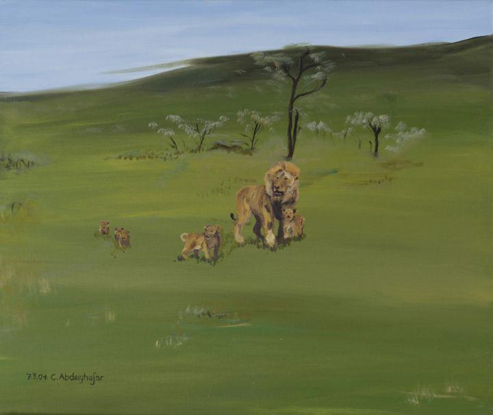 Lions family - Claudia Luethi alias Abdelghafar