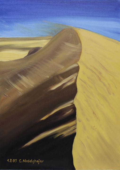 Dune of sand - Claudia Luethi alias Abdelghafar