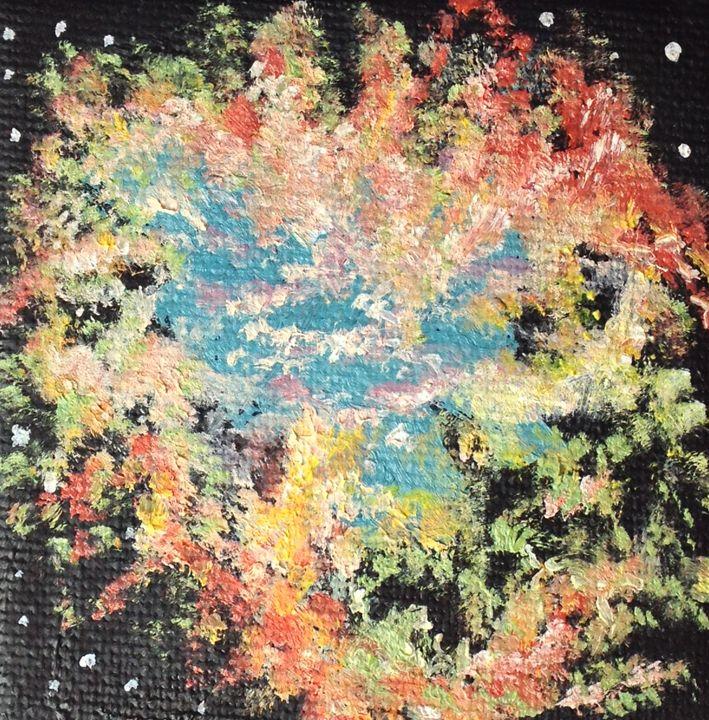 The crab nebula - Claudia Luethi alias Abdelghafar