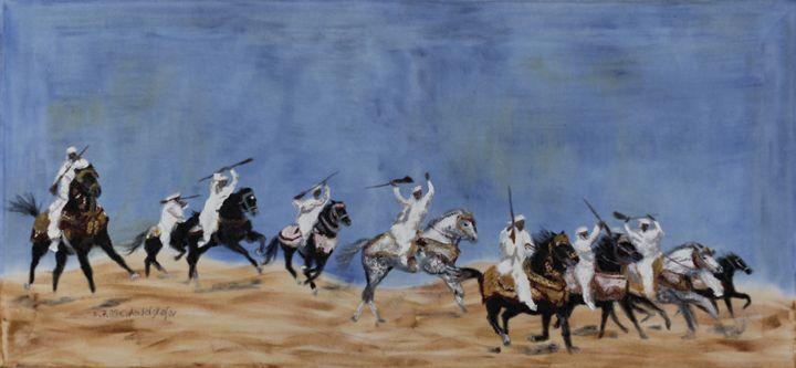 Fantasia in the desert - Claudia Luethi alias Abdelghafar