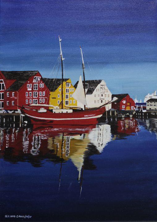 Skandinavian village - Claudia Luethi alias Abdelghafar