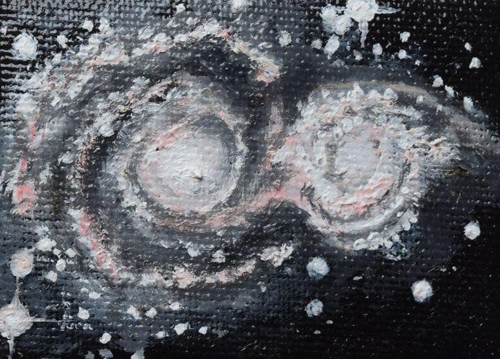 Whirlpool Galaxy - Claudia Luethi alias Abdelghafar