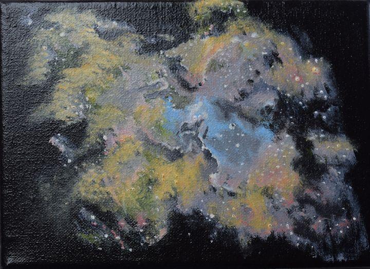 The eagle nebula - Claudia Luethi alias Abdelghafar