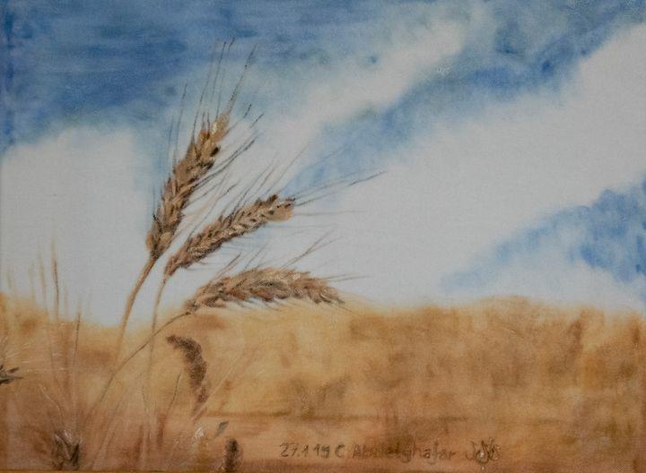 Wheat ears - Claudia Luethi alias Abdelghafar