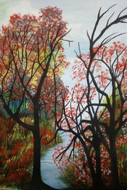 Trees - paintings