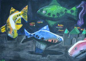 Abstract Aquarium