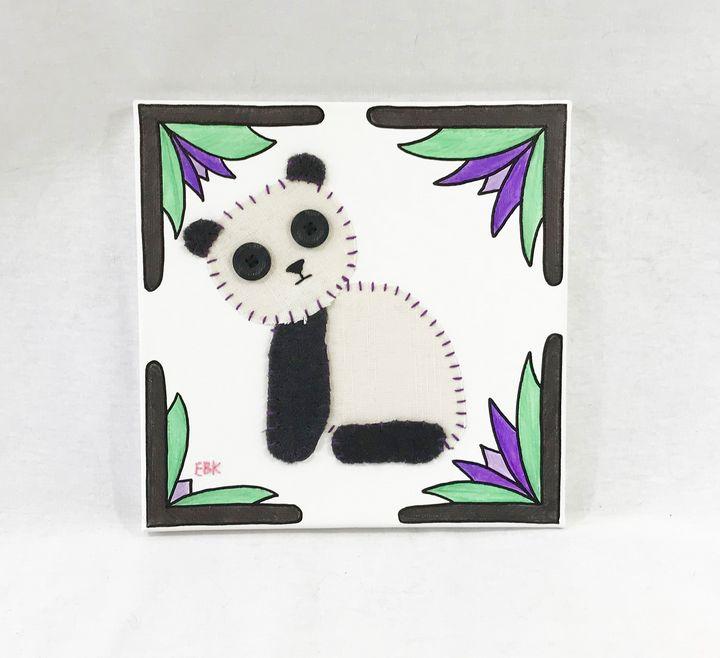 Sitting Panda #13 - Erin Brie Art