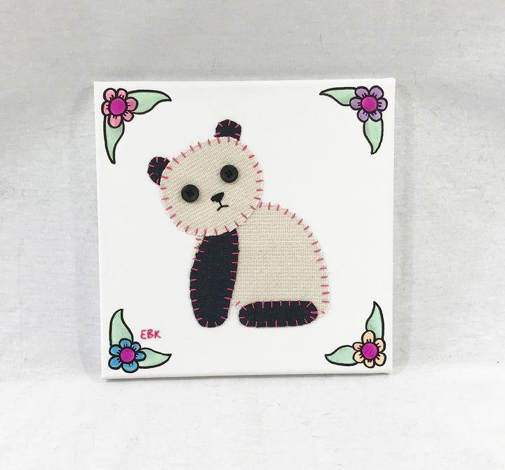 Sitting Panda #10 - Erin Brie Art
