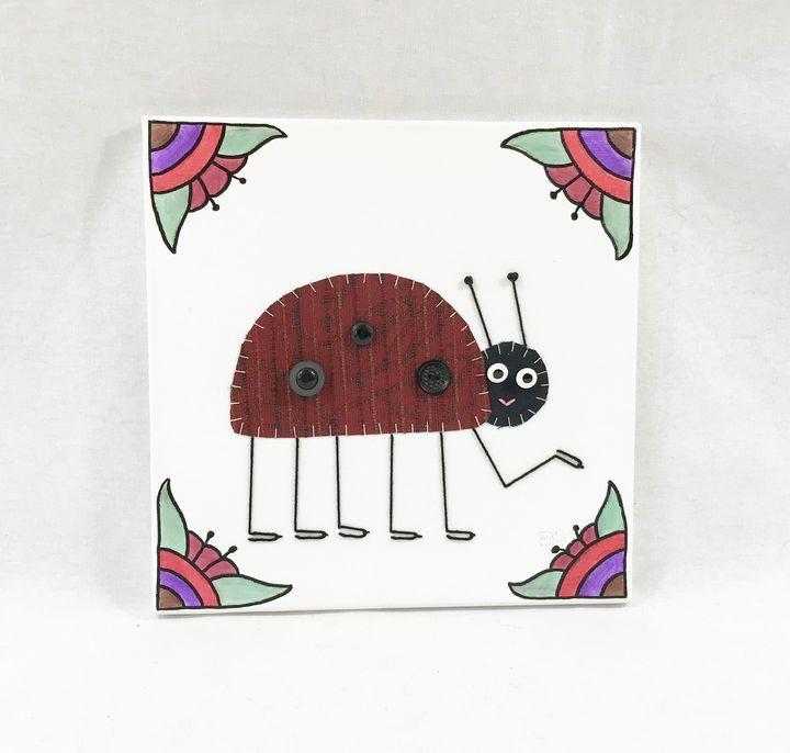 Ladybug #13 - Erin Brie Art