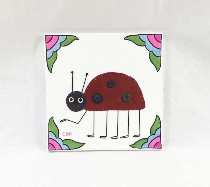 Ladybug #11 - Erin Brie Art