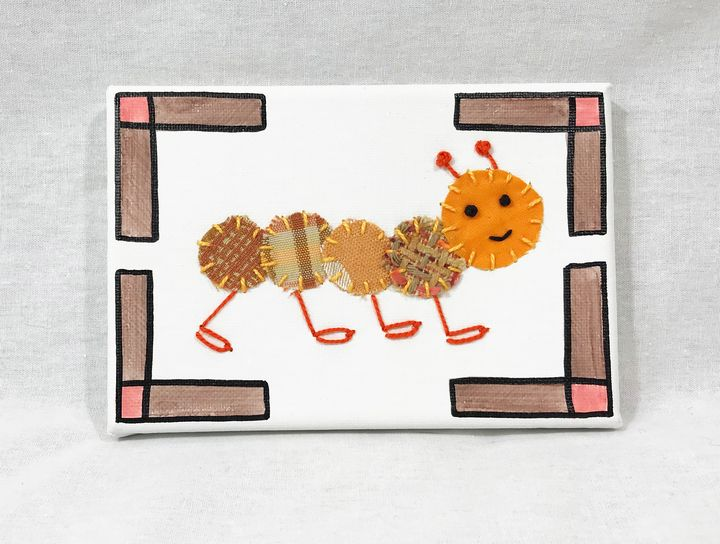 Junior Caterpillar #17 - Erin Brie Art