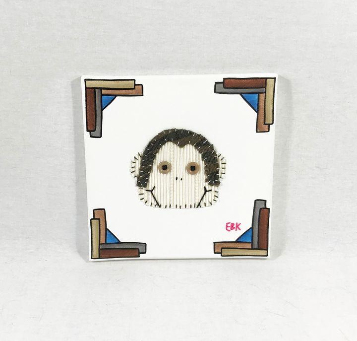 Monkey Head #2 - Erin Brie Art