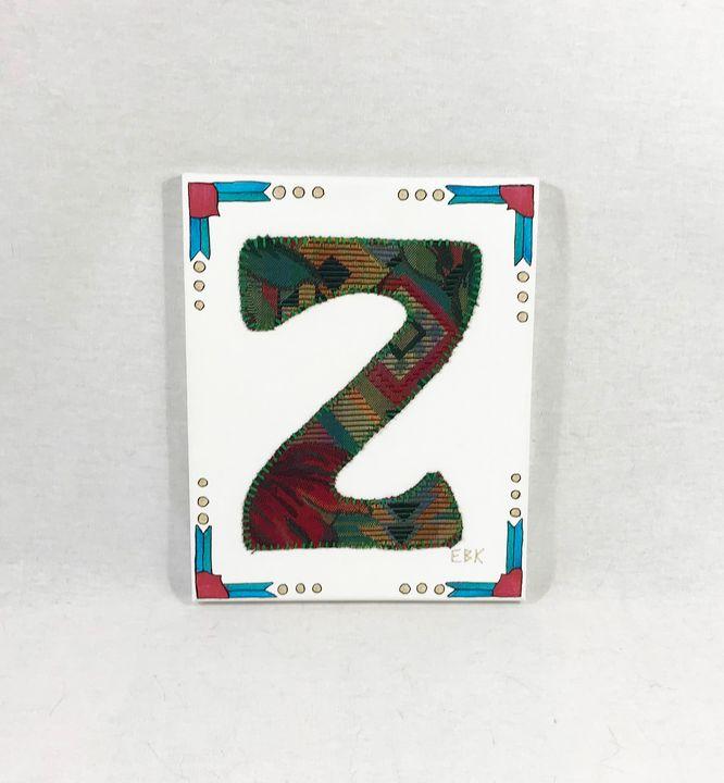 Initial Z #1 - Erin Brie Art