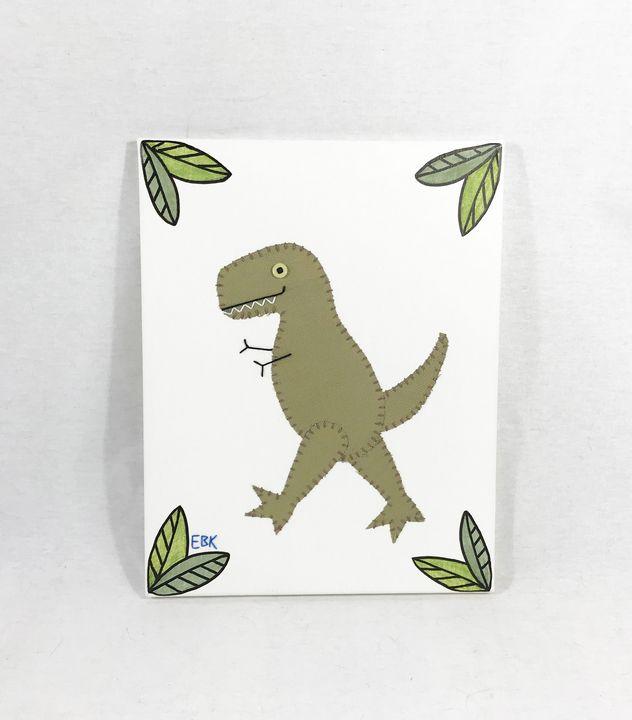 T-Rex #8 - Erin Brie Art