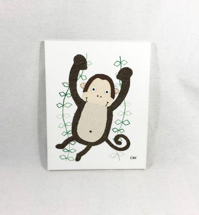 Monkey #5 - Erin Brie Art