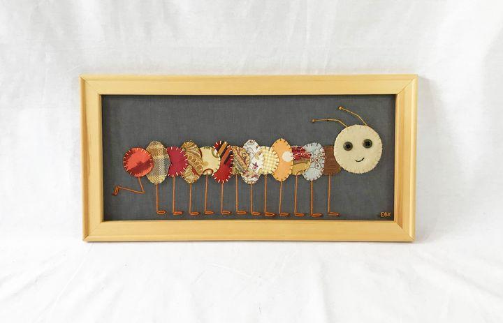 Caterpillar #10 - Erin Brie Art