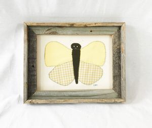 Butterfly in Barn Wood