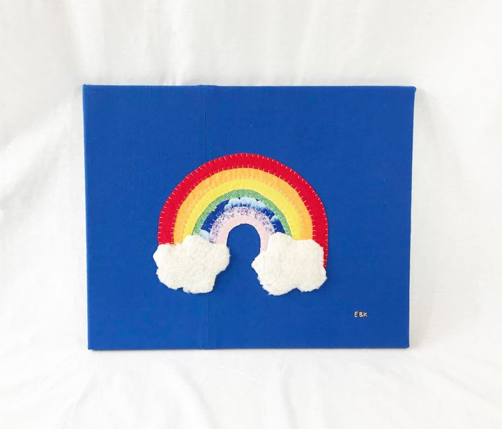 Rainbow #15 - Erin Brie Art