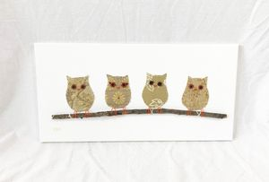 Owls on Branch #19