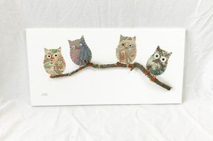 Owls on Branch #11
