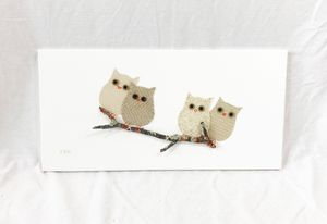 Owls on Branch #26