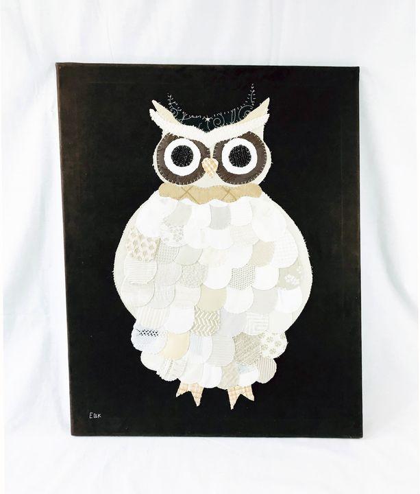 Large Owl #5 - Erin Brie Art
