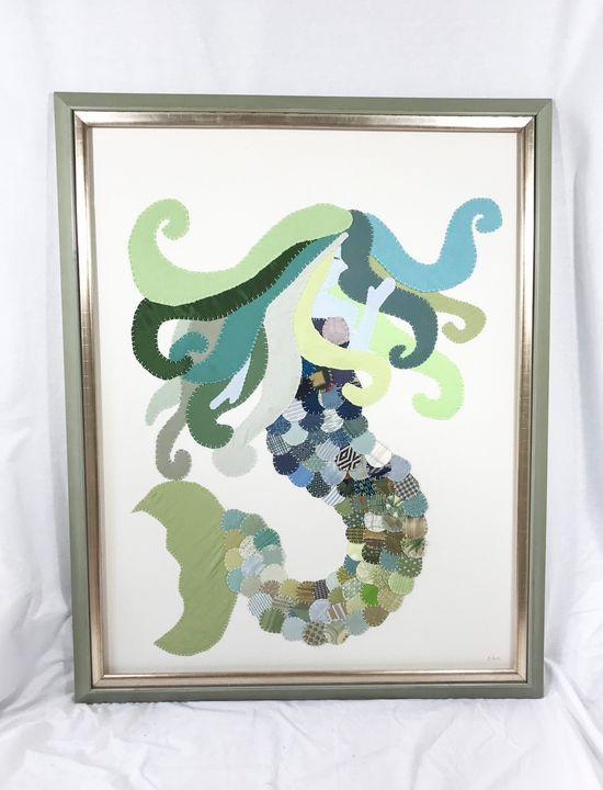 Large Mermaid #1 - Erin Brie Art