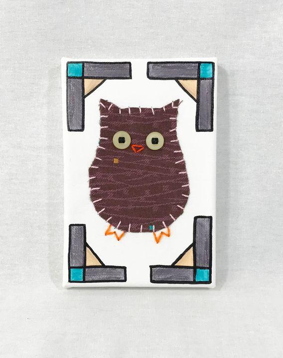 Junior Owl #36 - Erin Brie Art