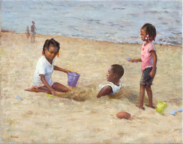 At The Beach - Miguel Malagon