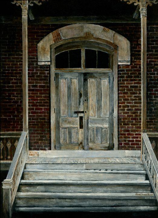 Bannack Doorway - Marijane Kent