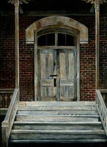 Bannack Doorway