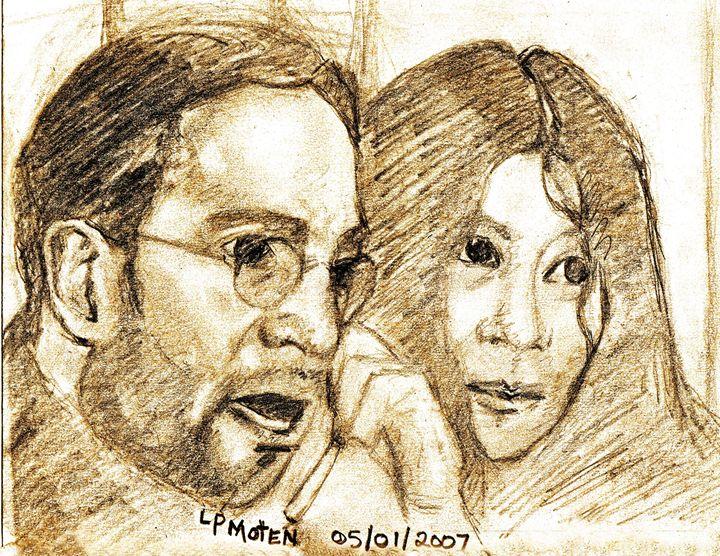 John Lennon and Yoko Ono - Moten's Gallery of Knowledge