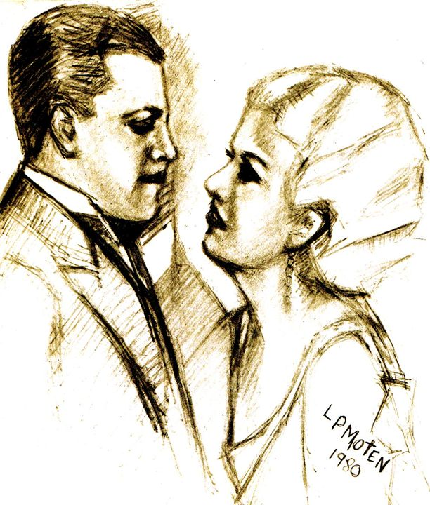 Cagney and Harlow - Moten's Gallery of Knowledge