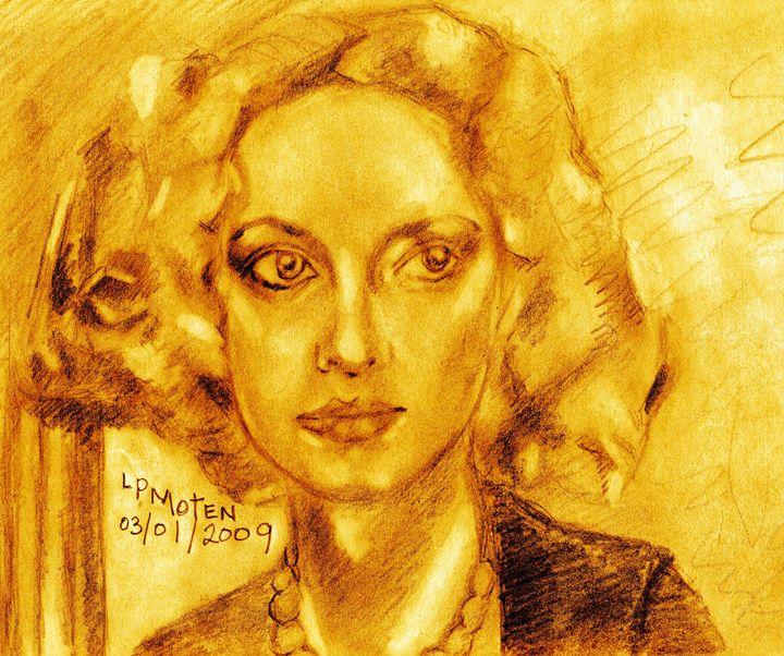 Betty Davis' Eyes - Moten's Gallery of Knowledge
