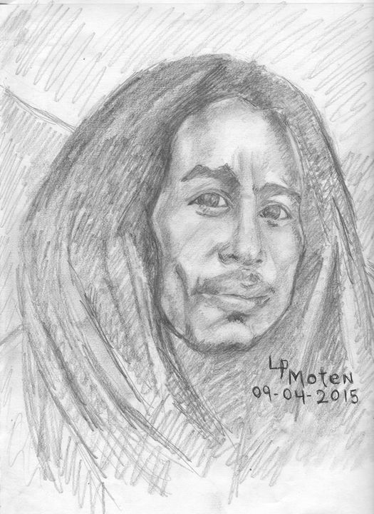Bob Marley - Moten's Gallery of Knowledge